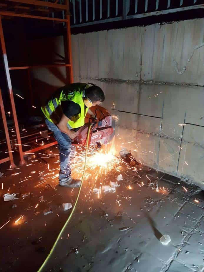 Power ניסור וקידוח בבטון