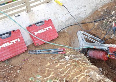פאוור ניסור וקידוח בבטון - כלי עבודה של HILTI 1
