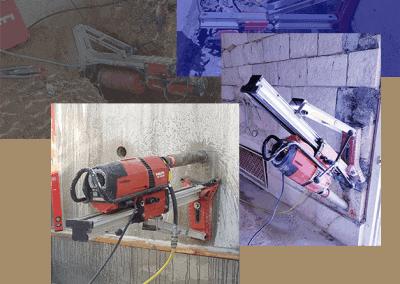 קידוח בטון - פאוור ניסור וקידוח בבטון