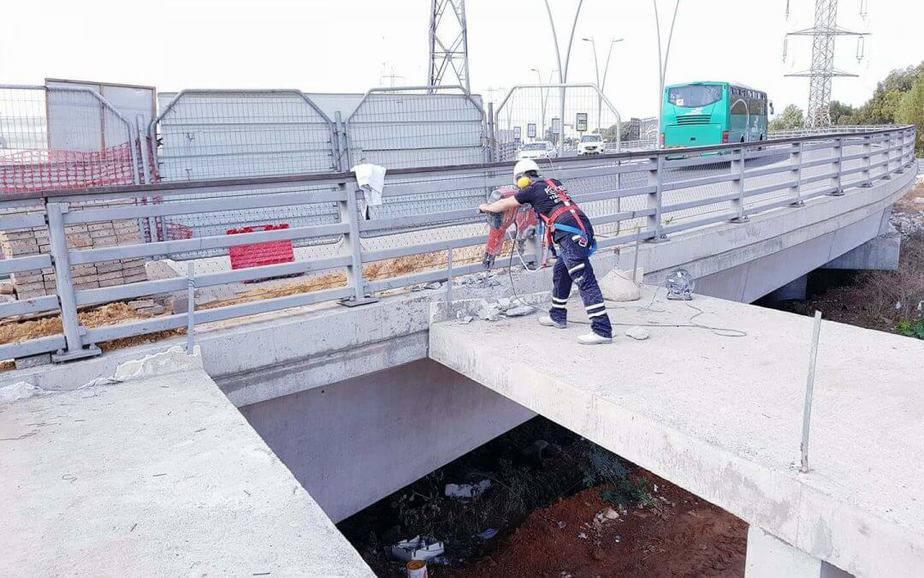 פיקוח בניה לעבודות ניסור בטון