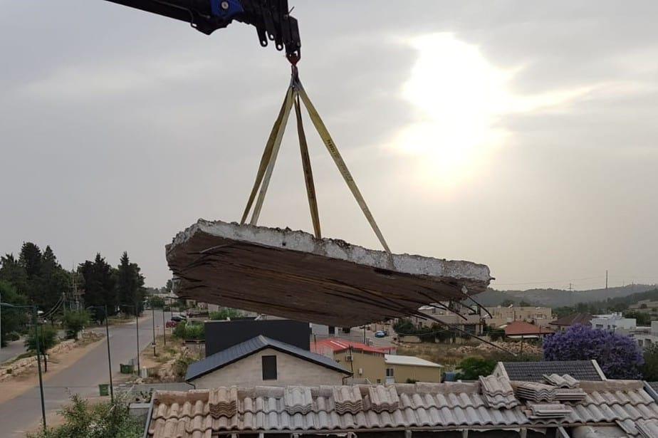 ניסור בטון בפרויקט הוספת מרפסות