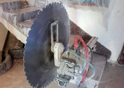 ניסור מדגות בטון
