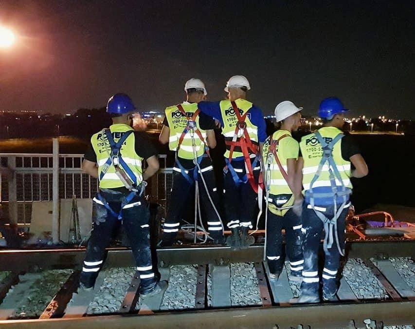 הדרכות עבודה בגובה למנסרי בטון