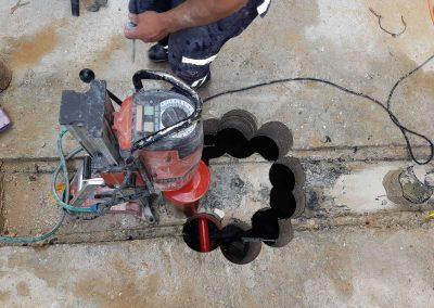 קידוח יהלום בטון