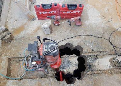 קידוח יהלום בבטון