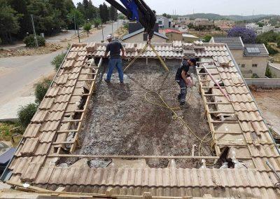 ניסור גג בטון