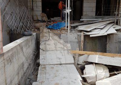 ניסור משטח בטון