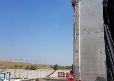 ניסור בטון ברכבת ישראל