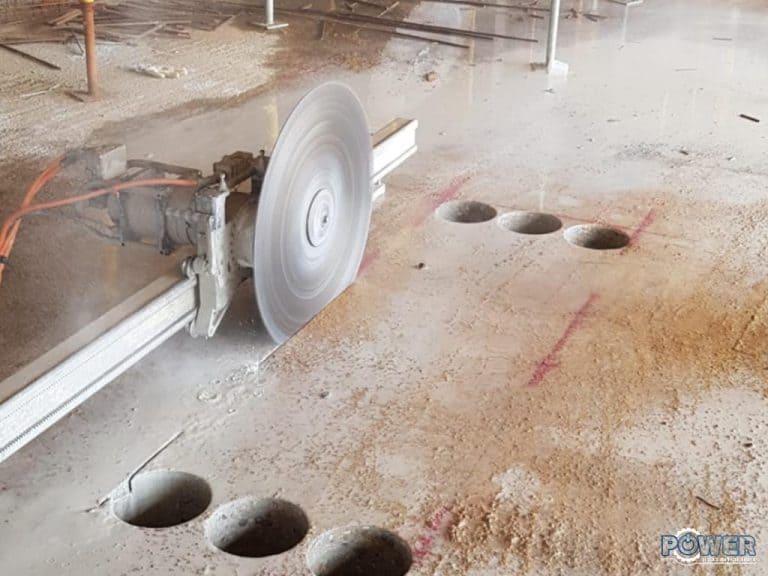 ניסור רצפת בטון