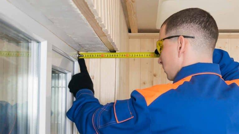 מדידת עובי קיר בטון