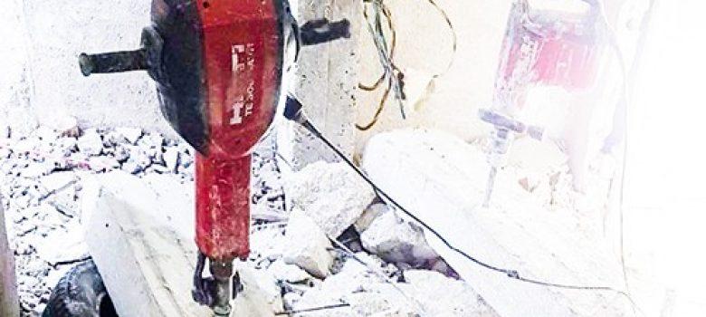 פאוור ניסור וקידוח בבטון - כלי עבודה של HILTI 2